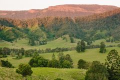 Mt Razorback. In Beaudesert,Lost World Valley,QLD,Australia Royalty Free Stock Images
