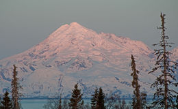 Mt. Redoubt Alaska Stock Photos