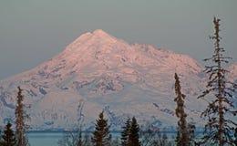 Mt. Redoubt Alaska Fotografie Stock