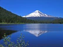 Mt. Reflexión del capo motor Imagen de archivo libre de regalías