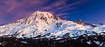 Mt. regenachtiger Nationaal Park Stock Foto's
