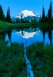 MT Regenachtiger, Washington State royalty-vrije stock foto's