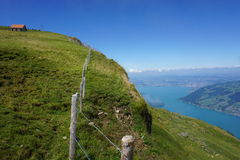 MT Rigi Kulm, Zwitserse Alpen Stock Foto's
