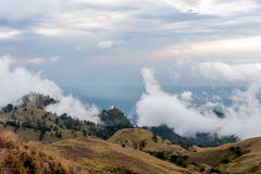 Mt. Rinjani Volcano Stock Photography