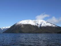 Mt Robert im Schnee Lizenzfreie Stockfotos