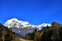 Mt robson Photographie stock
