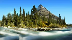 Mt Robson - Mount Robson Provincial Park, Canadian Rockies Royalty Free Stock Photography