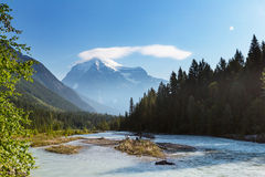 Mt.Robson Royalty Free Stock Photo