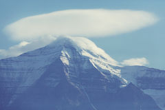 Mt.Robson Royalty Free Stock Photos