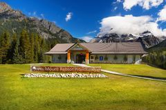 Mount Robson Provincial Park, Canadian Rockies Royalty Free Stock Photography