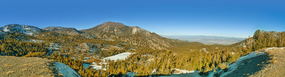 Mt. Rose Panorama Royalty Free Stock Images