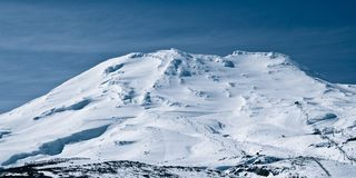 Mt Ruapehu Photographie stock