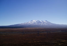 Mt Ruapehu. Mount Ruapehu in the North Island of New Zealand Royalty Free Stock Photography