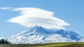 Mt Ruapehu 免版税图库摄影