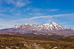 Mt Ruapehu - New Zealand Royalty Free Stock Photos