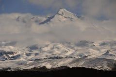Mt Ruapehu, Nouvelle Zélande. Image libre de droits