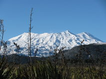 Mt. Ruapehu stock photography