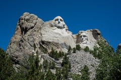 Mt Rushmore全国纪念品 免版税图库摄影