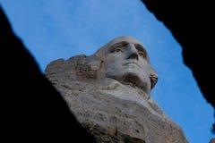 Mt Rushmore Вашингтон между углами стоковые фотографии rf