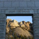 Mt Rushmore. Images stock
