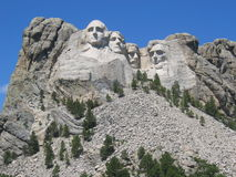Mt Rushmore Stock Photography