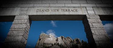 Mt Rushmore美国总统 库存图片