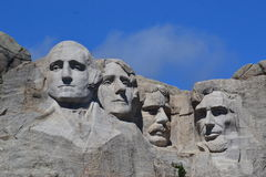 Mt. Rushmore  close up Royalty Free Stock Images