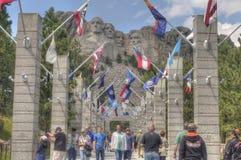 Mt Rushmore dans le Dakota du Sud photo stock