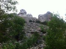 Mt Rushmore från slingan Royaltyfria Foton