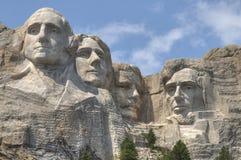 Mt Rushmore i South Dakota arkivfoto