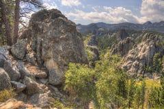 Mt Rushmore i South Dakota fotografering för bildbyråer