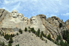 Mt Rushmore i South Dakota royaltyfri fotografi