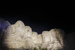Mt-rushmore nachts Stockbilder