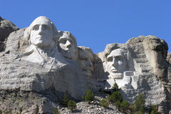 Mt. Rushmore National Park. Historic Mt Rushmore in the Black Hills of South Dakota Stock Photos