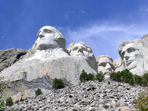 Mt. Rushmore a tourist attraction in South Dakota Stock Image
