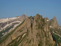 Mt.  Saentis Royalty Free Stock Images
