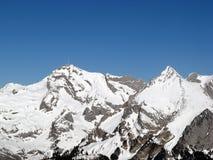 Mt. Saentis (st Gallen, Svizzera) fotografia stock libera da diritti