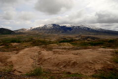Mt Saint Helens in Wahington State stock images