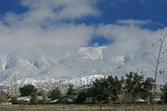 Mt. San Gorgonio Royalty Free Stock Image