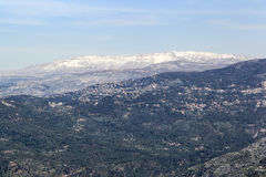Mt Sannine, Lebanon Stock Images