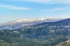 Mt Sannine, Lebanon Stock Image