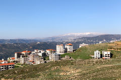 Mt Sannine, Lebanon Stock Images