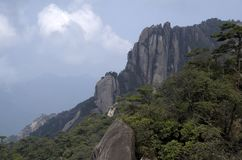 Mount Sanqing, Sanqingshan, Jiangxi China Royalty Free Stock Images