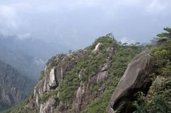 Mount Sanqing, Sanqingshan, Jiangxi China Royalty Free Stock Photos