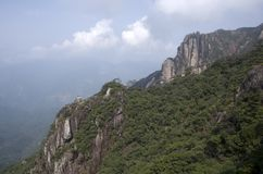 Mount Sanqing, Sanqingshan, Jiangxi China Royalty Free Stock Image