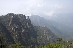 Mount Sanqing, Sanqingshan, Jiangxi China Stock Photos