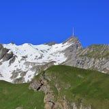 Mt Santis in primavera Fotografie Stock