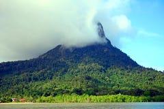 Mt Santubong,婆罗洲,马来西亚 库存图片