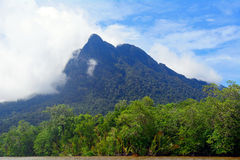 Mt Santubong, Bornéo, Malaisie Photos stock