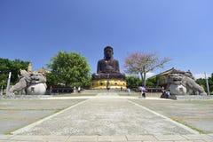 Mt Sceniskt område för Bagua Buddha Arkivbilder